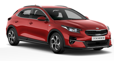 Kia Xceed - Available In Infra Red