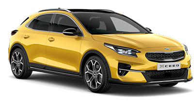 Kia Xceed - Available In Quantum Yellow